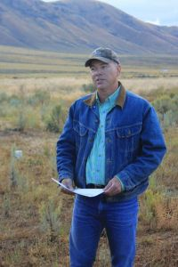 Mark Teichert of Teichert Angus in Cokeville, Wyo.