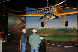Ranchers explore crop dusting history at the Afton Civic Center