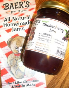 Baer's Pantry chokecherry jam