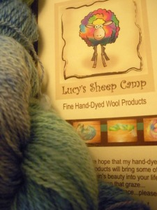 Lucy's Sheep Camp Hand-Dyed Wool Products