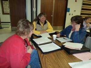 Participants in Annie's Project in Lusk, Wyo. learn to better understand and manage risk in their families ranching business.