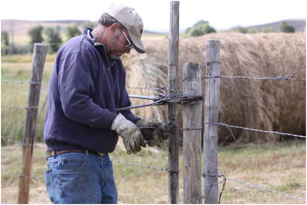 The Never Ending Job – Fencing – Real Ranchers