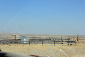 Loading Corrals made from left over oil pipeline