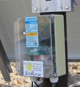 A Lorentz Solar Panel control box