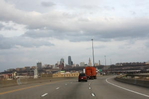Kansas City, Missouri Skyline