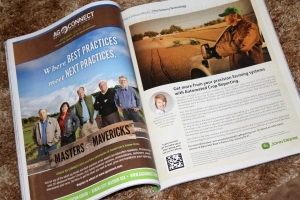 Ag Connect advertisement in Successful Farming Magazine