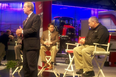 John Phipps and Chip Flory at the Ag Connect Expo live taping of the US Farm Report