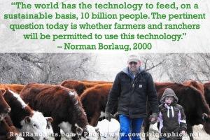 Norman Borlaug quote