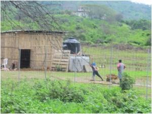 Barn near Monte Cristo, Ecuador