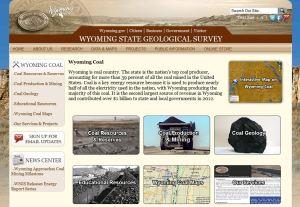 Wyoming Coal Website