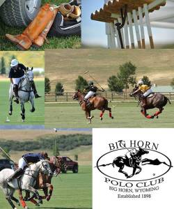 The Big Horn Polo Club offers a polo school, taught by a USPA certified instructor. Contact club President Perk Connell for information... 307-674-4928.