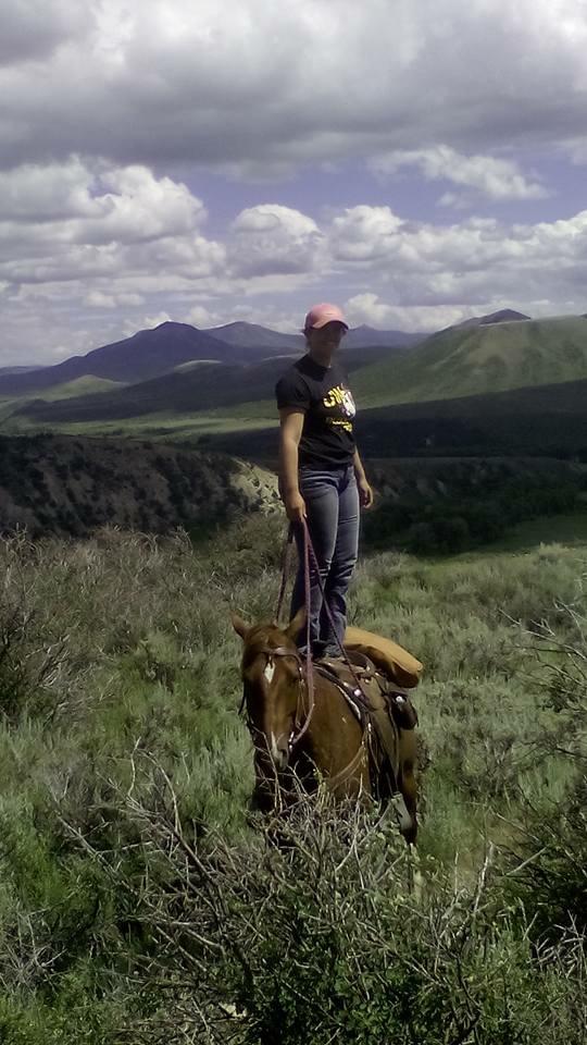 week 8 standing on horse
